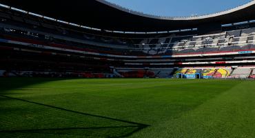 El pasto del Azteca se somete a nuevo tratamiento a dos meses del NFL México
