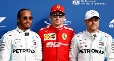 Leclerc se queda con la pole position en Monza tras una Q3