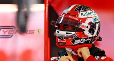 Leclerc vuelve a teñir de rojo la pole position para Ferrari en el Gran Premio de Rusia