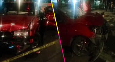 Dos personas pierden la vida en un accidente vial en Calzada de Tlalpan