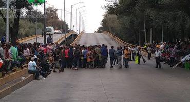 ¡Aguas! Manifestantes bloquean Circuito Interior en ambos sentidos