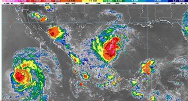 Nuevo León y Tamaulipas suspenden clases por tormenta