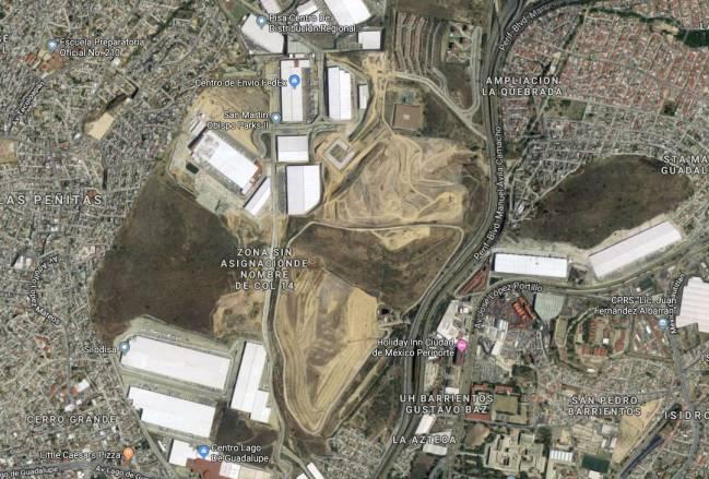 Cooperativistas buscan impedir la construcción del Estadio de Cruz Azul en Tlalnepantla