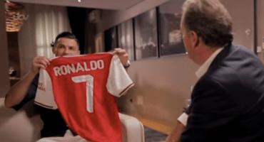 Cristiano confiesa que estuvo a un paso de jugar con el Arsenal