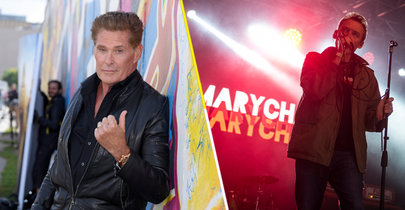 Ah prro: David Hasselhoff coverea