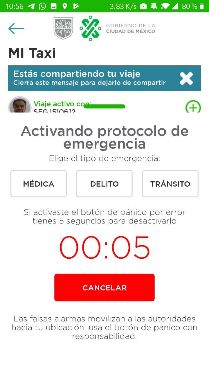"""Ya puedes usar """"Mi Taxi"""" para cualquier emergencia en CDMX ¿cómo funciona?"""