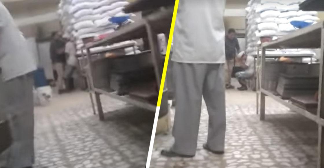 Exhiben a encargado de panadería en Iztapalapa golpeando a un trabajador con discapacidad