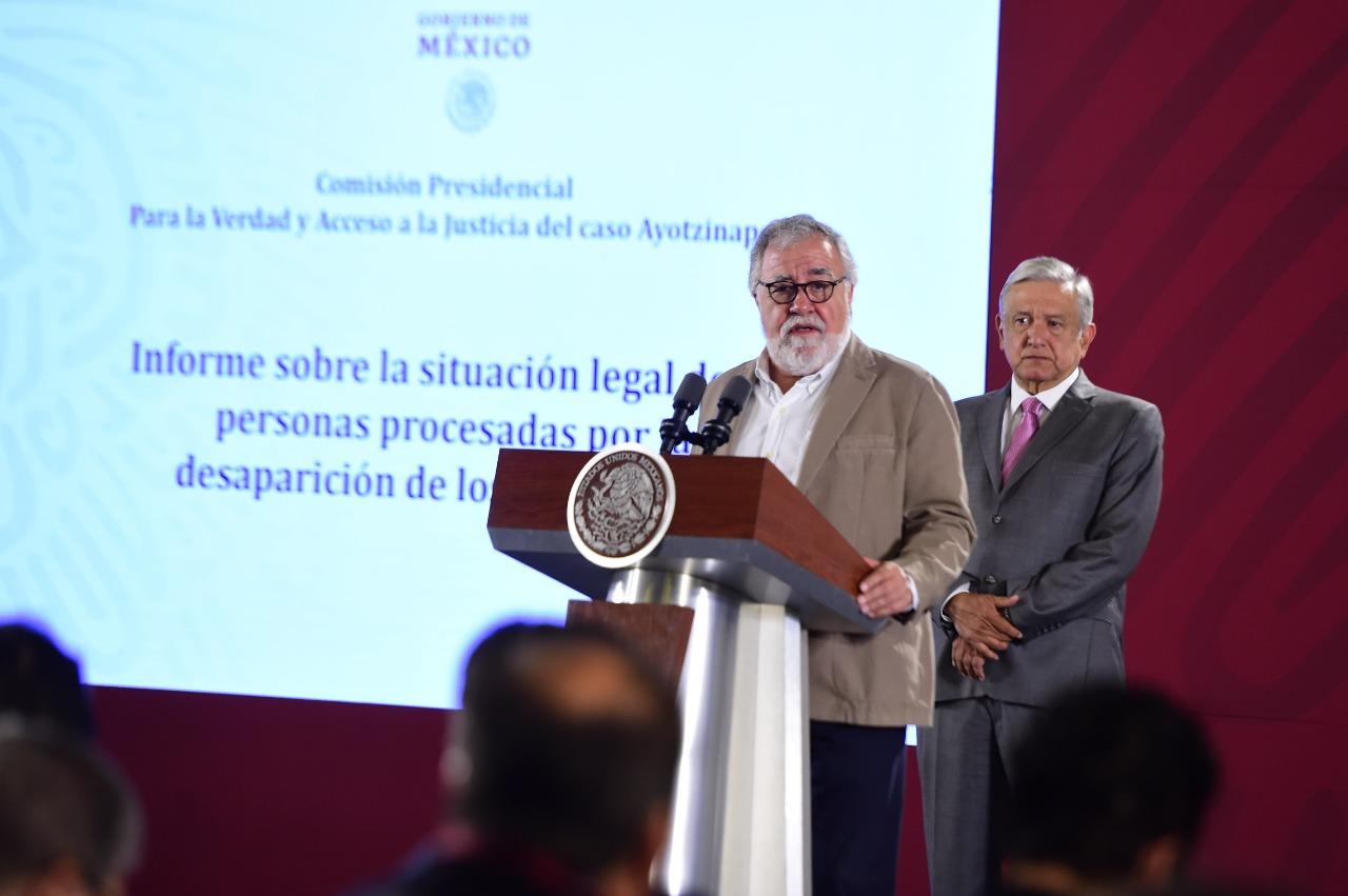 Funcionarios y jueces del caso Ayotzinapa serán investigados: Alejandro Encinas