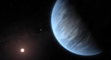 Descubren vapor de agua en la atmósfera de un exoplaneta similar a la Tierra