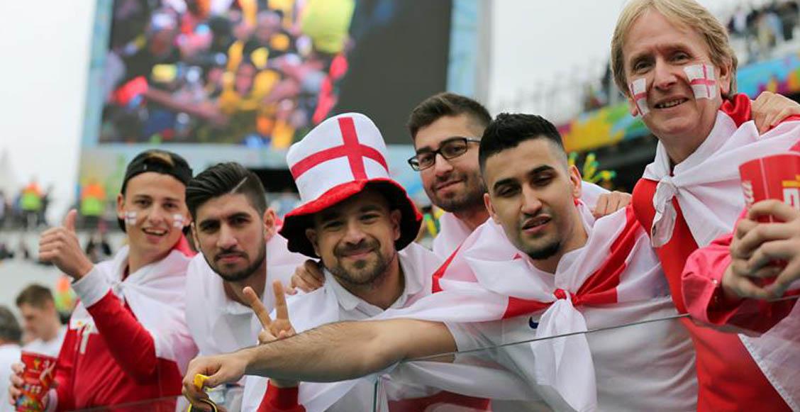 Embarazar a sus parejas: El método de los ingleses para no perderse la Euro 2020