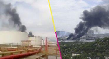 Se registró una explosión en una refinería de Pemex en Salina Cruz, Oaxaca
