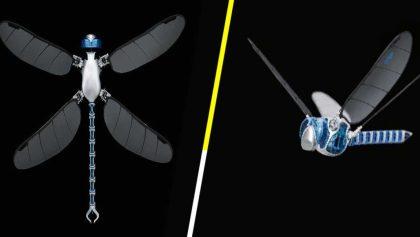 'BionicOpter', el dron-libélula ultraligero que mide más de medio metro