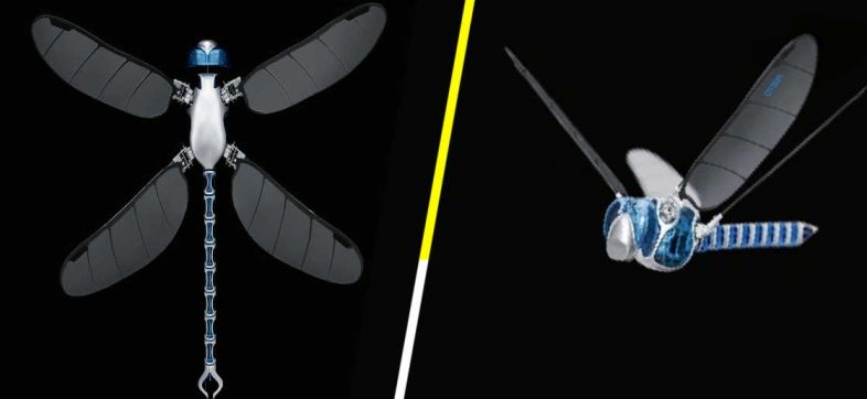 BionicOpter, el dron-libélula ultraligero que mide más de medio metro