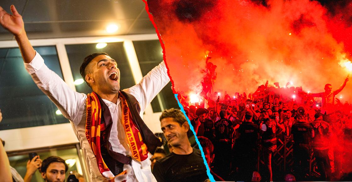 Galatasaray anuncia negociaciones para el traspaso de Radamel Falcao