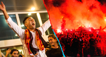 Falcao desata la locura de aficionados del Galatasaray a su llegada a Turquía