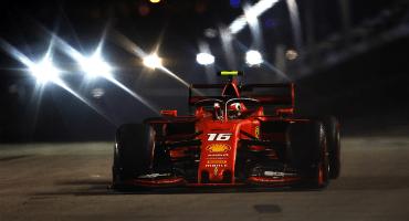 Leclerc repite por tercera vez en la pole position, en el Gran Premio de Singapur