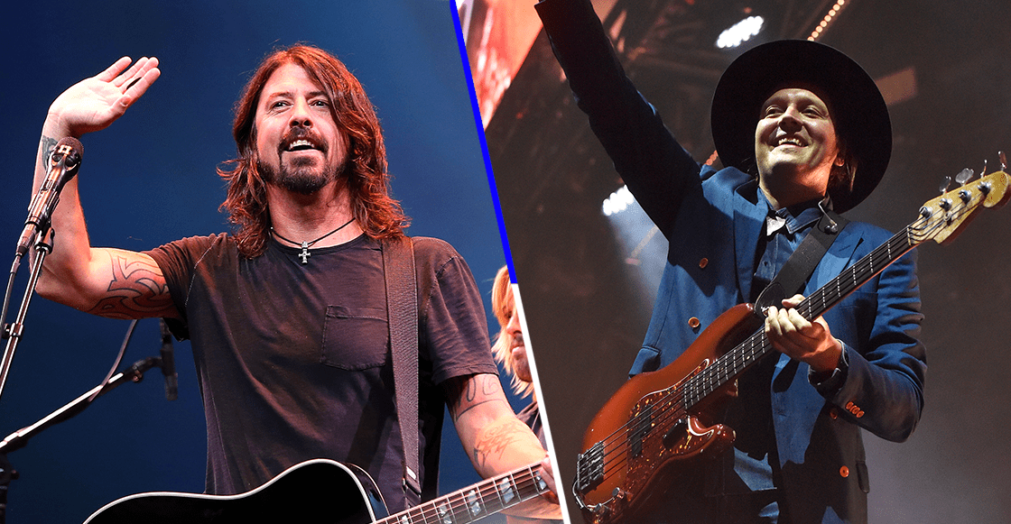 Honor a quien honor merece: Foo Fighters coverea a Arcade Fire en su nuevo EP
