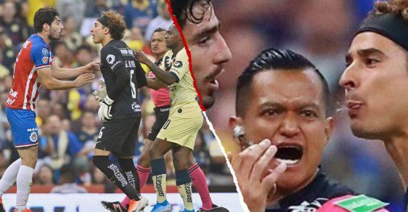 ¿Es real la foto de Guillermo Ochoa escupiéndole al 'Pollo' Briseño tras lesionar a 'Gio'?