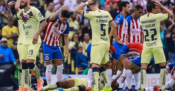Giovani Dos Santos recibió más de 25 puntadas tras la entrada de Briseño