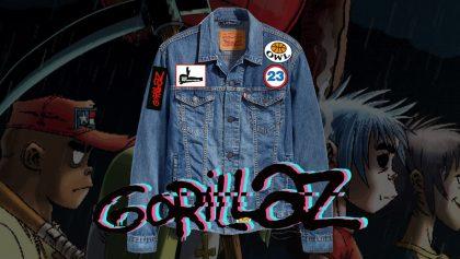 Saquen toda la morralla: ¡La colección de Gorillaz con Levi's llegará a México!