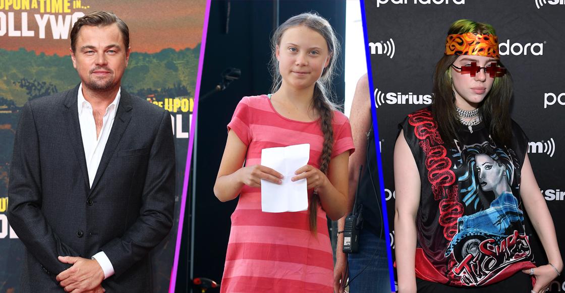 Billie Eilish, DiCaprio, Joe Jonas y más, se suman al movimiento de Greta Thunberg