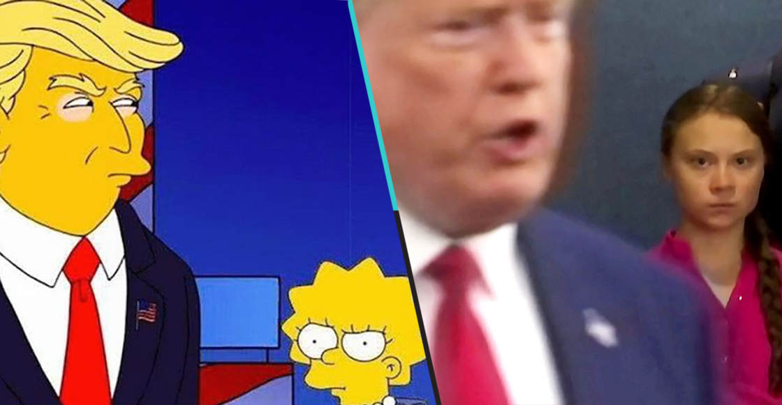 ¿'Los Simpson' lo hicieron otra vez? Lisa y Greta Thunberg son comparadas por el internet