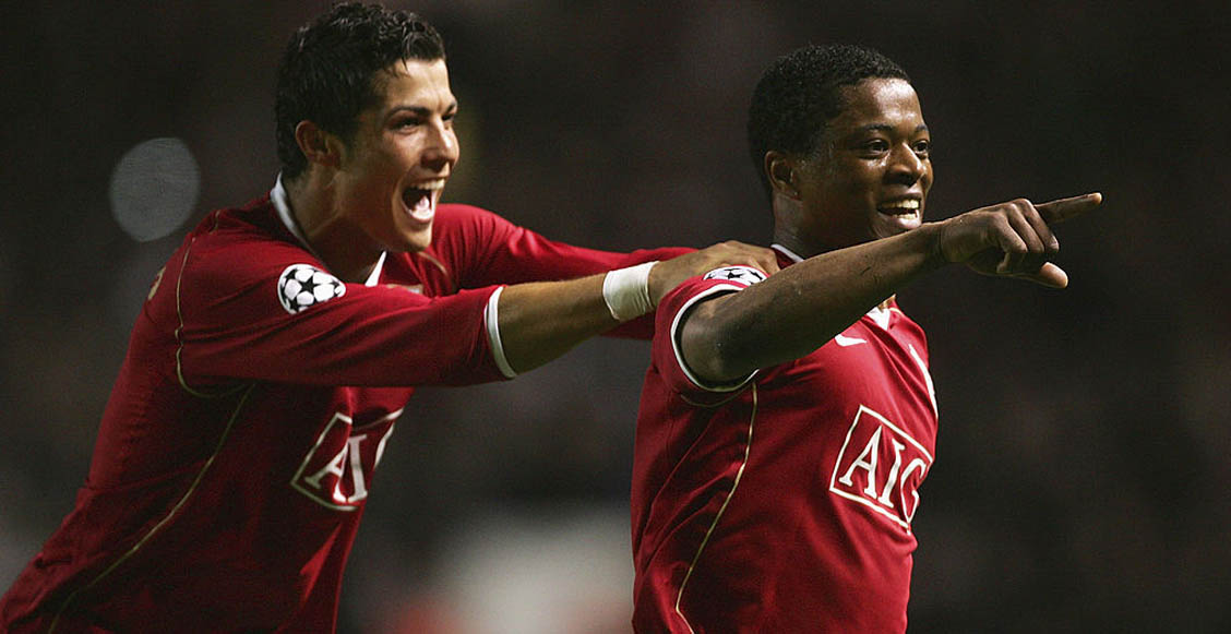 El día que Cristiano Ronaldo engañó con comida a Patrice Evra para ir a entrenar a su casa