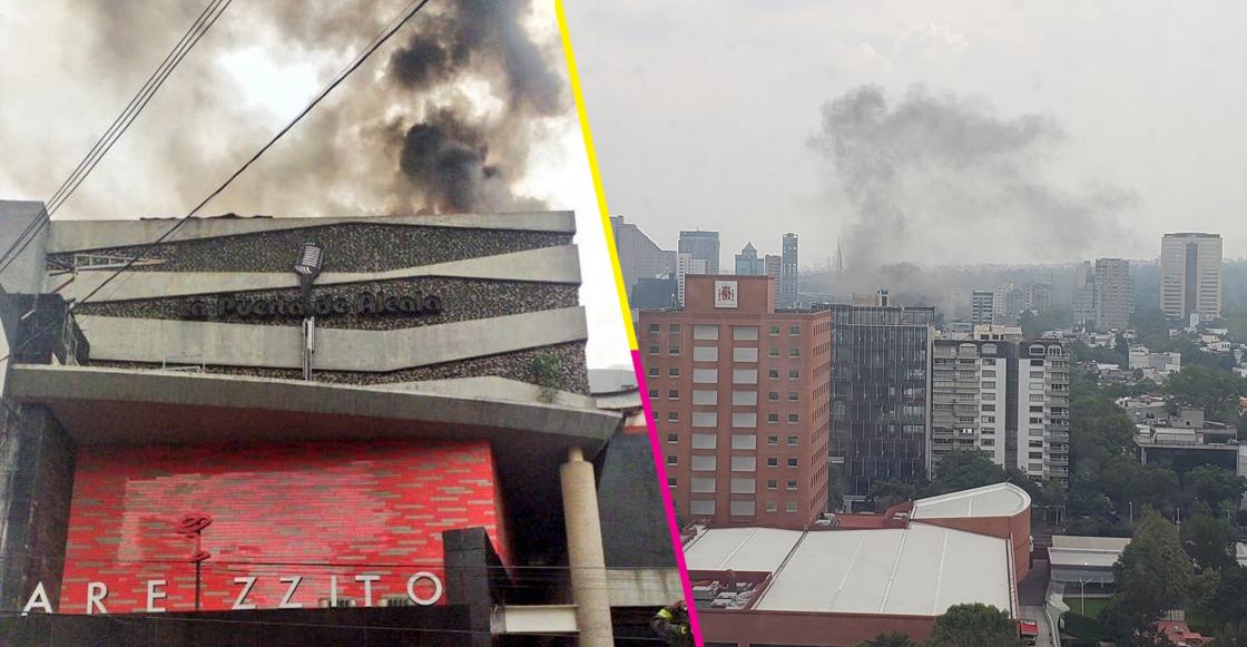 Se incendió restaurante en el corazón de Polanco; no hay lesionados
