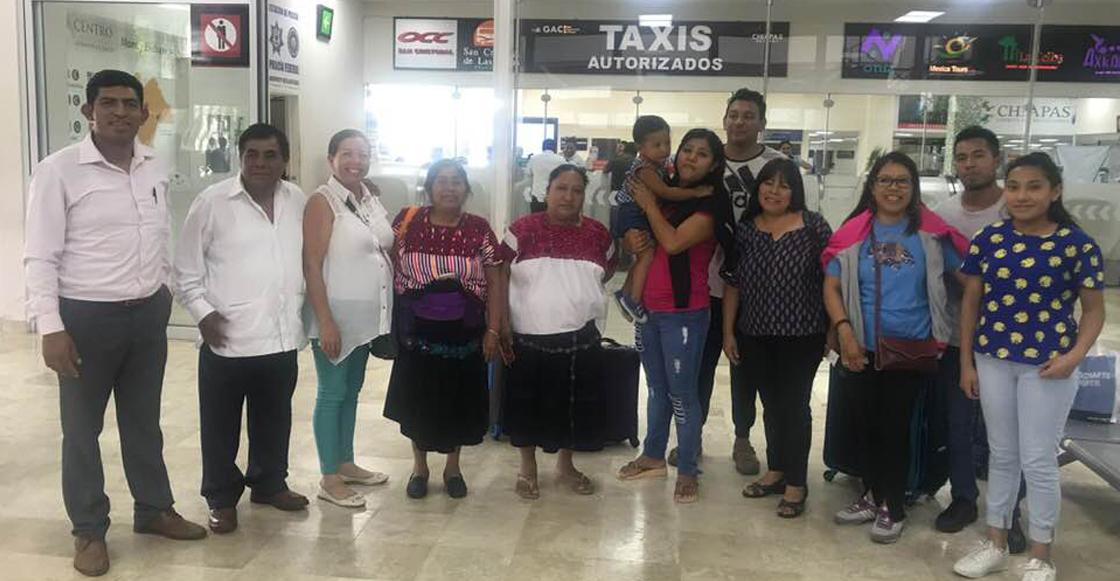 ¡Aplausos! Cuatro indígenas chiapanecas regresaron de India capacitadas como ingenieras solares