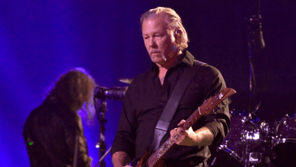 Metallica cancela su gira por problemas de alcoholismo de James Hetfield