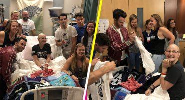 Joven se pierde el concierto de los Jonas Brothers por una quimioterapia y ellos la van a visitar al hospital