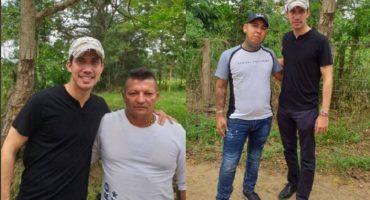 Difunden fotos de Guaidó con narcos;