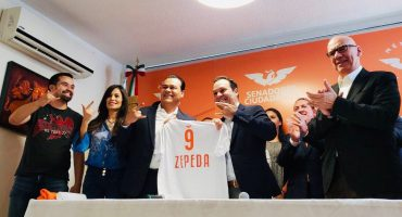 Juan Zepeda se integra a Movimiento Ciudadano tras dejar el PRD