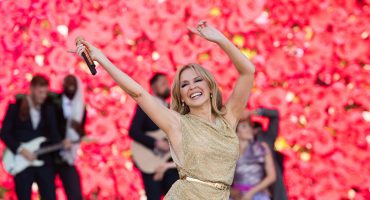 La presentación de Kylie Minogue es la más vista en la historia de Glastonbury