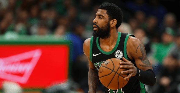 Kyrie Irving sufre fractura facial con los Brooklyn Nets