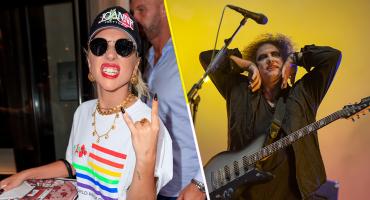Se la pasó bomba: Mira a Lady Gaga bailando en el concierto de The Cure