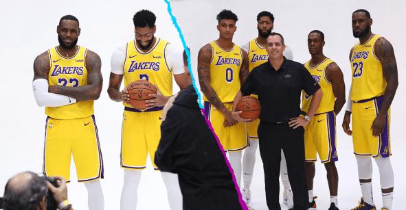 Lakers se toman las fotos oficiales y LeBron asegura que este año es el bueno