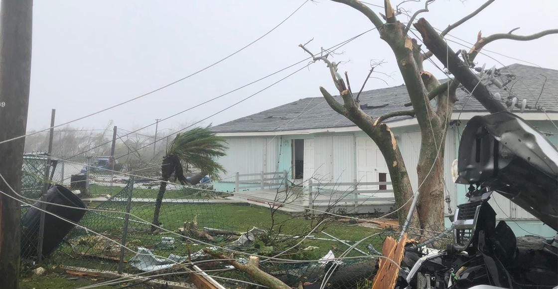 Van al menos 5 muertos por el huracán Dorian en Las Bahamas