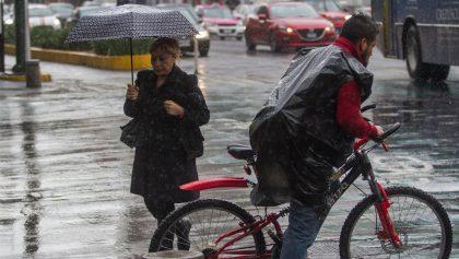 ¡Abusados! Se activa alerta amarilla por lluvia y granizo en 10 alcaldías de la CDMX