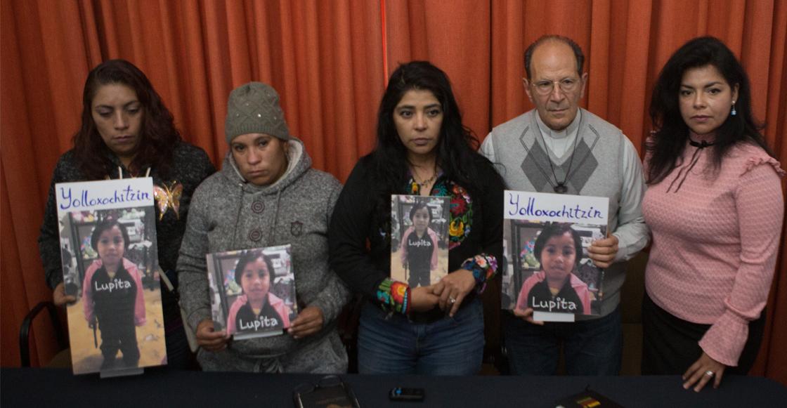 """88 años de prisión para padrastro y madre por el asesinato de Lupita """"calcetitas rojas"""""""