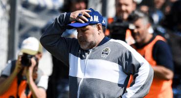 Así le fue a Maradona en su debut como DT de Gimnasia: