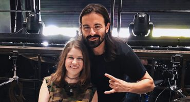 Baterista de Slipknot invitó a una fan a su concierto gracias a su bestial cover de