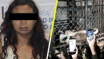 Mujer que secuestraba y mataba perros en Puebla es liberada por las autoridades