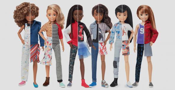 Wooow ¡Mattel lanza la primera línea de Barbie de género neutro!