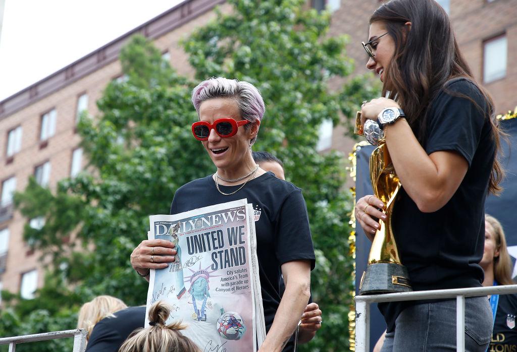 ¡Capitana América! Megan Rapinoe conquistó el premio 'The Best' como mejor jugadora