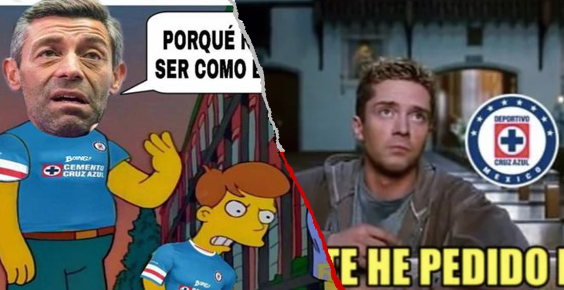 Los memes acompañaron a Caixinha a la puerta de salida del Cruz Azul