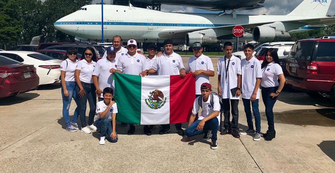 Como cuando alumnos del Conalep visitaron la NASA y pusieron en alto el nombre de México