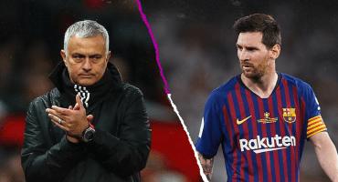 """¡Ver para creer! Mourinho elogió a Messi: """"Me hizo mejor entrenador"""""""
