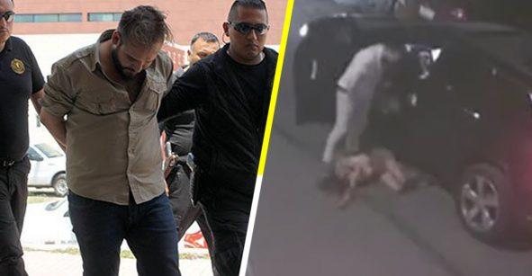 Hombre que fue grabado golpeando a la madre de su hija sólo es acusado de violencia familiar