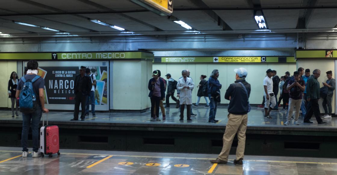 Una mujer se aventó a las vías del Metro Centro Médico y perdió la vida
